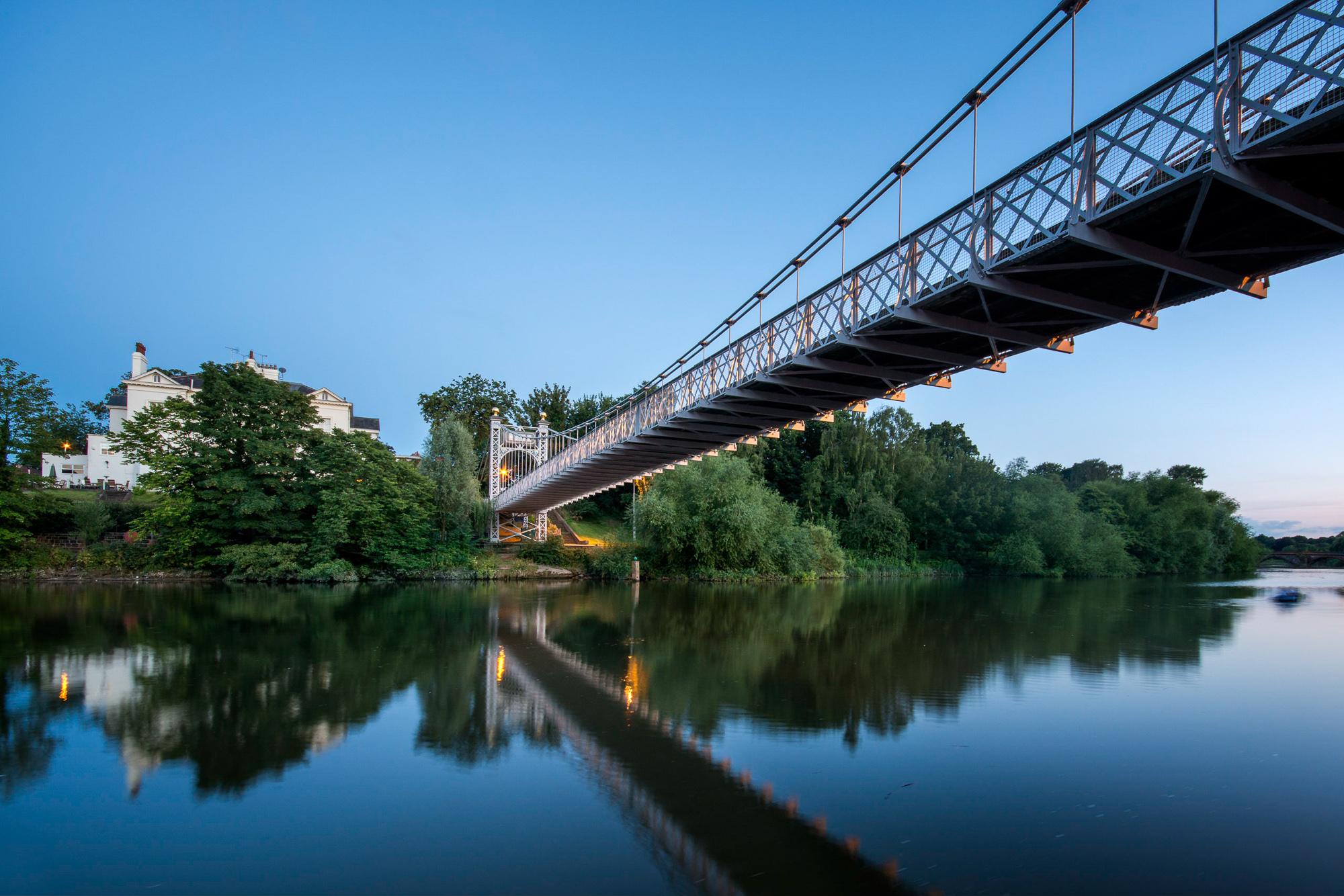Chester Photographer Queens Park Bridge
